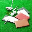 ゴルフ スコアカードケース 横型スコアカードケース スコアカードホルダー スコアカードカバー 牛革 ゴルフ用品メンズ レディース プレゼント