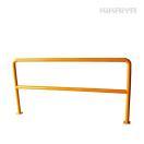 KIKAIYA パイプガード横型2000mm 車止めポール バリカー ガードパ...