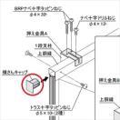 四国化成 防風・防音フェンス オプション 58:横さんキャップ サイズ共通(1組4ヶ)  58EC-SC 【アルミフェンス 柵】 ステンカラー
