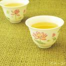 台湾茶器 茶杯 粉紅蓮花(小)三希製