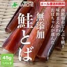 鮭とば 北海道産 無添加 送料無料 400円 45...