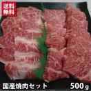 【数量限定】国産焼肉セット 500g モモ バラ