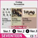 2次予約 初回限定ポスター(セット6種) SEVENTEEN(セブンティーン) - GOING SEVENTEEN (3RD MINI ALBUM)★1+2+3 Ver.セット★発売12/6 発送12月末