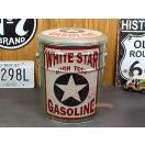ペール缶スツール(WHITE-STAR)