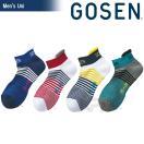 「2017モデル」GOSEN(ゴーセン)「メンズスニーカーインソックス F1604」