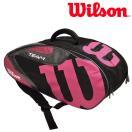 ウイルソン Wilson テニスバッグ・ケース  TEAM J 6 PACK チームJ6パック ラケットバッグ WRZ640806 『即日出荷』