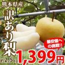 【期間限定価格】熊本県産訳あり梨 約2.5kg...