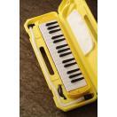 KC/キョーリツコーポレーション  鍵盤ハーモニカ キョーリツ メロディーピアノ(イエロー) 《鍵盤ハーモニカ》 [P3001-32K]【今ならドレミシール付き!】