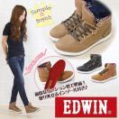 スニーカー ハイカット レディース 靴 EDWIN ED-4132 エドウィン