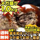 黄金比率ハンバーグ4個&メンチカツ4個 お試しセット 1kg 詰め合わせ (お試し 食べ比べ)[ハンバーグ・メンチカツ]
