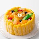 ケーキ フルーツプリンアラモード(おのし...