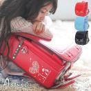 お花と犬のモチーフ ランドセル フィットちゃん × ラヴニール コラボ 2020年 手作り 職人 アミィ モデル スライドフィット機能搭載 日本製 人気 女の子モデル