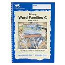 Fitzroy Word Families・C