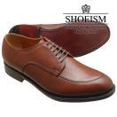 SHOEISMシューイズム112Vチップスプリットトゥブラウンメンズビジネスシューズ本革革靴