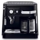【送料無料】デロンギDeLonghi コンビコーヒーメーカー ドリップコーヒー ブラック BLACK  [BCO410J-B] エスプレッソマシーン カプチーノメーカー