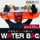 ウォーターバッグ 体幹トレーニング トレーニング方法 器具 水 筋トレ シェイプアップ エクササイズ GOLDAXE 送料無 XM413
