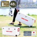 クーラーボックス 保冷 大型 日本製 大容量 ホリデーワールドLC48L ペットボトル 40本 投入口 小窓付 お花見 ピクニック 遠足