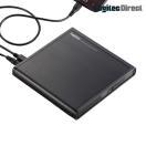 当店全品P5倍 12/8 1:59迄 ケーブルを挿せばスマホにCDを録音できるAndroid用CD録音ドライブ(ブラック) LDRW-PMH8U2RBK