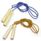 なわとび 木柄カラー 縄跳び 縄飛び 子供用