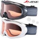 ゴーグル 眼鏡対応 スキー スノーボード AX460-D 曇り止め機能付き