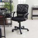 オフィスチェア メッシュ パソコン チェアー ミドルバック デザイン デスク用 PC OA 椅子 イス いす おしゃれ