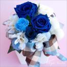 プリザーブドフラワー 誕生日 フラワーギフト 誕生日プレゼント 青バラ 記念日