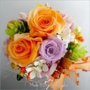 プリザーブドフラワー ビタミンカラー 誕生日プレゼント フラワーギフト アレンジ  バースデーギフト