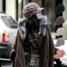 レディース キャスケット ニットキャップ ニットキャスケット つば広 ツイスト編み 柄 日よけ 深め 帽子 ぼうし ニットキャス 秋 冬 女性用 婦人
