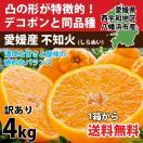 デコポン 同品種 みかん 不知火 訳あり 約4kg 濃厚  甘い 送料無料  愛媛産