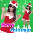 サンタ コスプレ レディース サンタ 衣装 安い サンタクロース コスチューム 猫耳サンタ ネコミミ ハーティーキャットサンタ