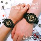 CASIO ジーショック 腕時計 ペアセレクション LOVE-A G-SHOCK Baby-G GA-110GB-1AJF BA-110-1AJF ペアウォッチ/ギフト/記念日/誕生日/クリスマス/カップル