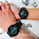 CASIO ジーショック 腕時計 ペアセレクション LOVE-AQ G-SHOCK Baby-G GA-100CB-1AJF BGA-190GL-1BJF ペアウォッチ/ギフト/記念日/誕生日/クリスマス/カップル