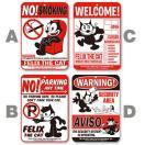 Felix (フィリックス)   サイン ボード / NO! SMOKING、NO! PARKING、WELCOME、WARNING