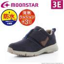レディース 【セール50%OFF】 防水 防寒 ブーツ ムーンスター SPLT WL046 ネイビー 幅広4E ファスナー付 moonstar