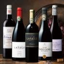 ワイン すべてパーカー90点以上獲得!フランス赤ワイン5本セット (送料無料)