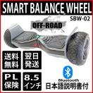 [送料無料] 8.5インチ立ち乗りバランススクーター オフロード バランシングスクーター バランスウィール【オフロード】Bluetoothスピーカー付