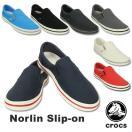 クロックス(CROCS) クロックス ノーリン スリップオン(crocs norlin slip-on)(男女兼用)