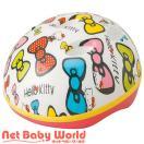 ヘルメット カブロヘルメット (ハローキティリボン)エムアンドエム M&M 幼児用 子供用 スポーツヘルメット