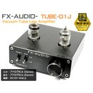 FX-AUDIO- TUBE-01J『ブラック』本格真空管ラインアンプ