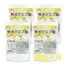 無水クエン酸 3kg×4袋 食品添加物 [02] NICHIGA ニチガ