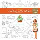 韓国語のぬりえ本 カラーリング・アンド・ザ・キッチン- ペーパードールと一緒に Coloring and the Kitchen(大人の塗り絵)