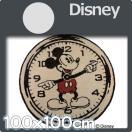 ラグ ディズニー  ミッキーマウス 100cm直径  disney オンザクロック