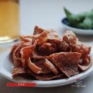 送料無料 北海道産 鮭皮チップス ハラス 35...