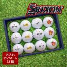 ギフト 名入れ 即日出荷可能 ゴルフボール12個セット ダンロップ スリクソン 記念品 ゴルフコンペ 景品 退職祝 敬老の日