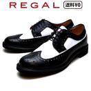 リーガル REGAL メンズカジュアル ウィングチップ 70TR AH