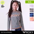 ROXY/ロキシーキッズ長袖ラッシュガードTシャツティーシャツ紫外線カットUPF50+UVカット水着みずぎTLY171062