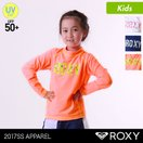 ROXY/ロキシーキッズ長袖ラッシュガードTシャツティーシャツ紫外線カットUPF50+UVカット水着みずぎTLY172103