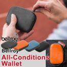ベルロイ オールコンディションレザー ウォレット/耐水性のレザーとYKK製のアクアガードジッパーを使用したコンパクトな財布/Bellroy All-Conditions/送料無料