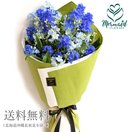 【クール便】花 ギフト 誕生日 デルフィニウムの花束 花言葉 結婚記念日 花 青 ブルー お祝い 記念日 プレゼント 父の日