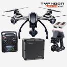 カメラ&写真カメラドローン 海外セレクション YUNEEC Q500 4K Typhoon Drone ウイズ CGO3 カメラ, SteadyGrip and Aluミニum ケース